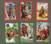 Vintage Cards game Walt Disney's Davy Crockett by Pepys